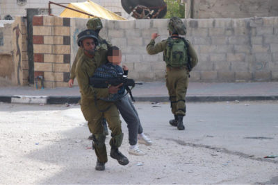 A border policeman abducts a young boy