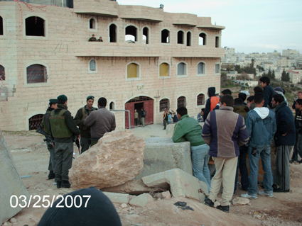 Israeli settlers occupy Palestinian home