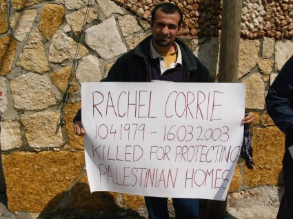 Protesters remember Rachel Corrie