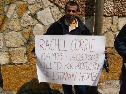 Protesters remember Rachel Corrie