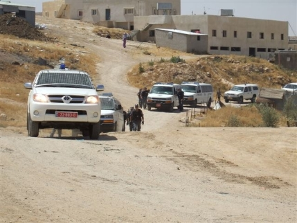 Police come to Attir to demolish homes, RCUV