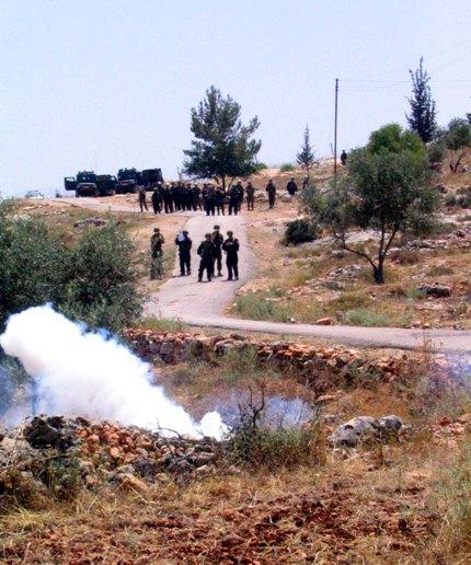 15 June Bil'in, Photo by Eva